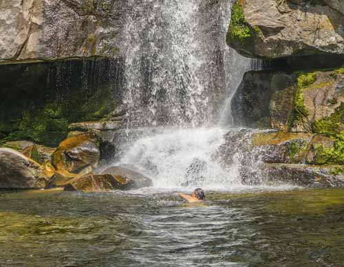 Cascada Rio Hueco en Altas Cumbres