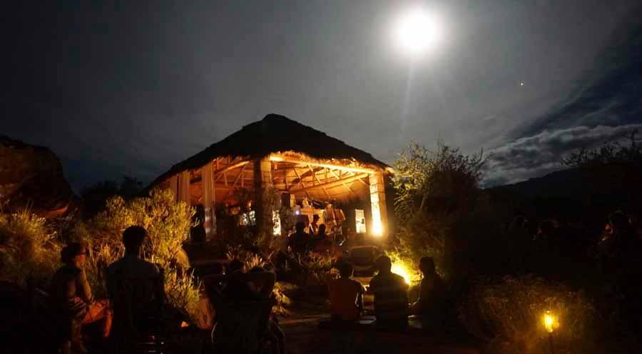 noches en la Kiva